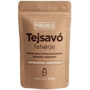 Pure Gold Tejsavó Protein natúr italpor – 500g