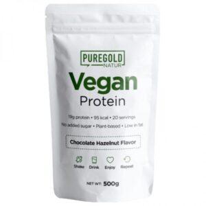 Pure Gold Vegan Protein csokoládé-mogyoró - 500g
