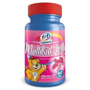 1x1 Vitamin MultiKid Jelly málna ízű gumivitamin - 90db