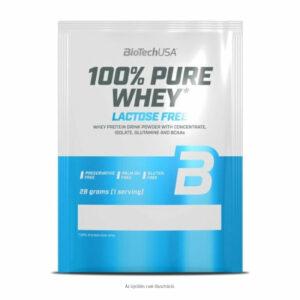 BioTech USA 100% Pure Whey karamell-cappuccino - 28g
