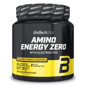 BioTech USA Amino Energy Zero elektrolitokkal ananász-mangó - 360g