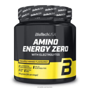 BioTech USA Amino Energy Zero elektrolitokkal barackos ice tea - 360g