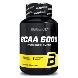 BioTech USA BCAA 6000 100 db tabletta - 100 db