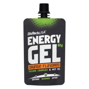 BioTech USA Energy Gel narancs - 60g