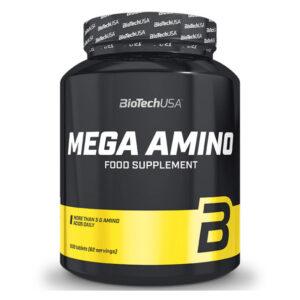 BioTech USA Mega Amino tabletta - 500db