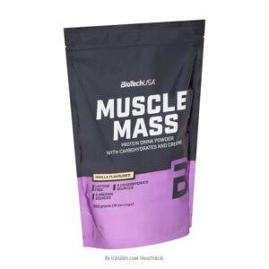BioTech USA Muscle Mass 1000g eper - 1000g
