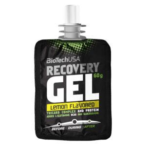 BioTech USA Recovery Gel citrom - 60g