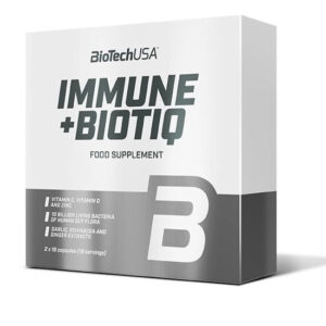 BioTech USA Immune + Biotiq kapszula - 18+18db