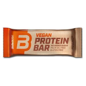 BioTech USA Vegan Bar mogyoróvaj szelet - 50g