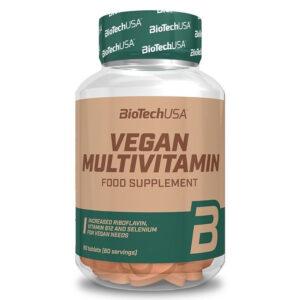 BioTech USA Vegan Multivitamin tabletta - 60db
