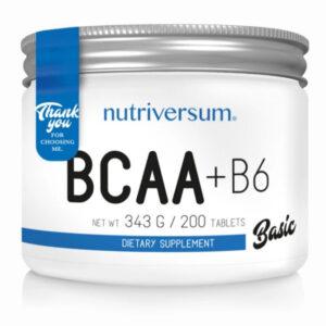 Nutriversum BASIC BCAA+B6 tabletta - 200db