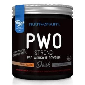 Nutriversum DARK-PWO Strong narancs - 210g