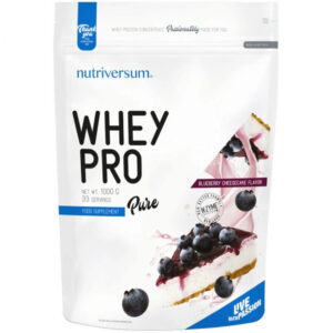 Nutriversum Pure Whey Pro áfonyás sajttorta - 1000g