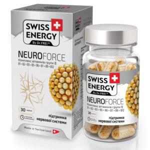 Swiss Energy Neuroforce - B-vitamin komplex kapszula - 30db