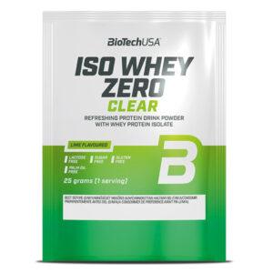 BioTech USA Iso Whey Zero Clear lime - 10x25g