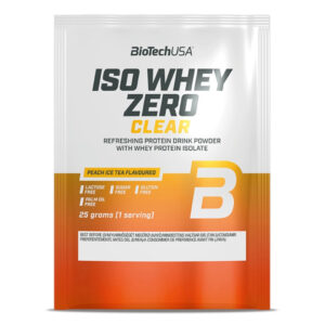 BioTech USA Iso Whey Zero Clear barackos ice tea - 10x25g
