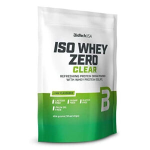BioTech USA Iso Whey Zero Clear lime - 454g
