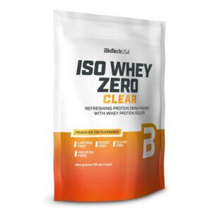 BioTech USA Iso Whey Zero Clear barackos ice tea - 454g