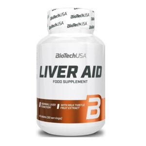 BioTech USA Liver Aid tabletta - 60db