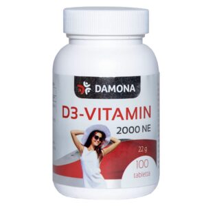 Damona D3-vitamin tabletta - 100db