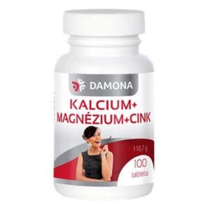 Damona Kalcium + Magnézium + Cink tabletta - 100db