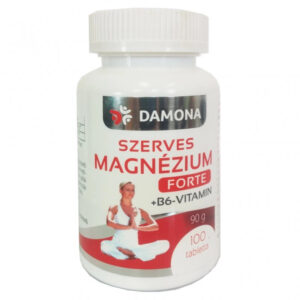 Damona Szerves Magnézium + B6-vitamin Forte tabletta - 100db