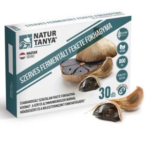 Natur Tanya Fermentált Fekete fokhagyma kapszula - 30db