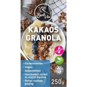 Szafi Free Kakaós granola - 250g