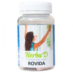 Herba-D ROVIDA (Fekete kömény, Csalán, Quercetin, Bromelain) kapszula - 30db