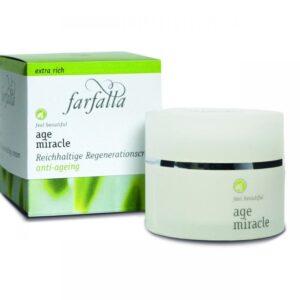 Farfalla Age Miracle tápláló regeneráló krém - 30ml