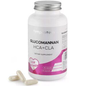 Fittprotein Glucomannan HCA+CLA komplex étvágycsökkentő kapszula - 90db