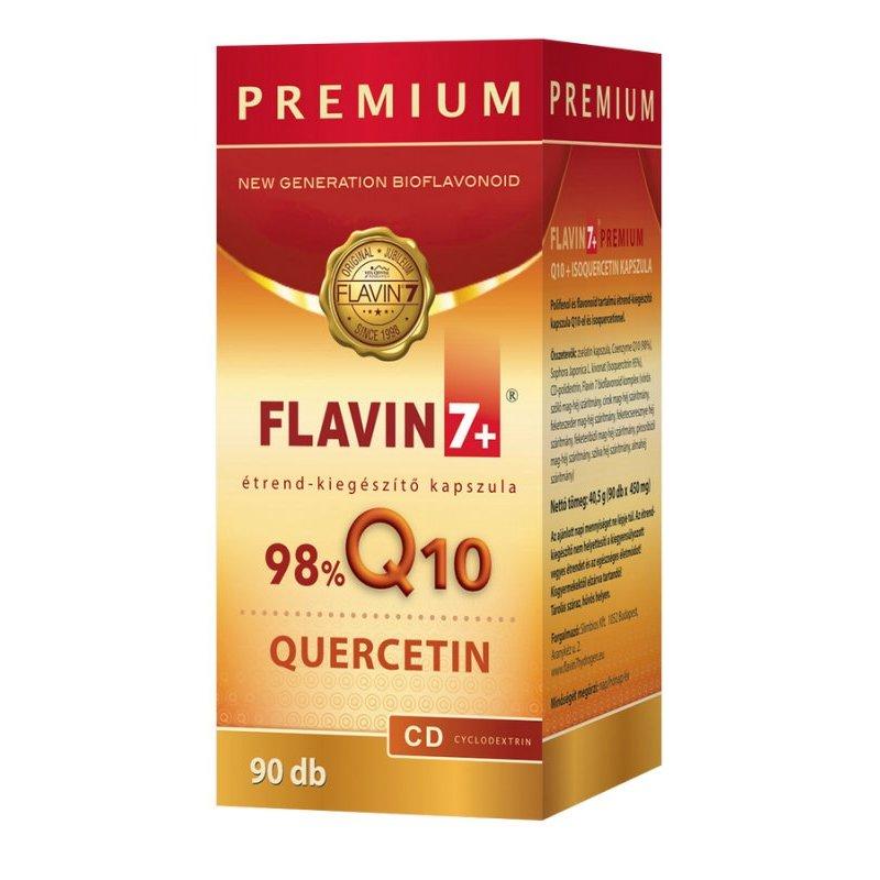 Flavin7 Q10 + Quercetin Prémium kapszula - 90db