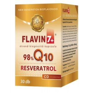 Flavin7 Q10 + Resveratrol kapszula - 30db