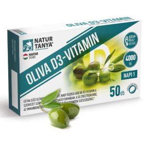 Natur Tanya Oliva D3-vitamin 4000NE lágyzselatin kapszula - 50db