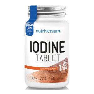Nutriversum VITA - jód tabletta - 60db