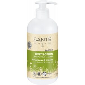 Sante Family Testápoló bio ananásszal és lime-mal - 500ml