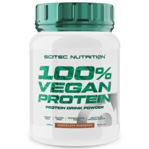 Scitec Nutrition 100% Vegan Protein csokoládé - 1000g