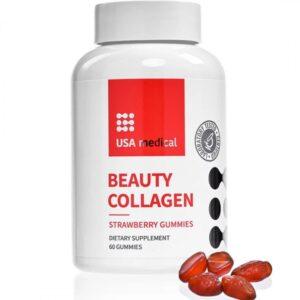USA Medical Beauty Collagen (halkollagén) gumivitamin - 60db