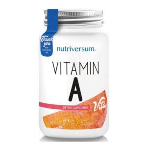 Nutriversum A-vitamin tabletta - 60db
