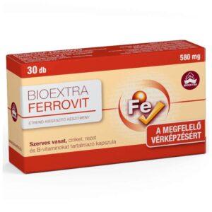 Bioextra Ferrovit kapszula - 30db