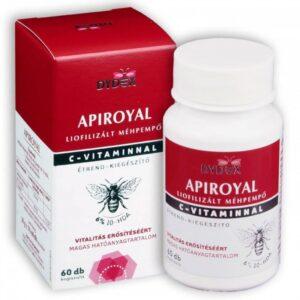 Dydex Apiroyal, liofilizált méhpempő C-vitaminnal kapszula - 60db