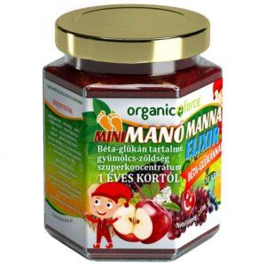 Mini Manó Manna elixír béta-glükánnal 1 éves kortól - 210g