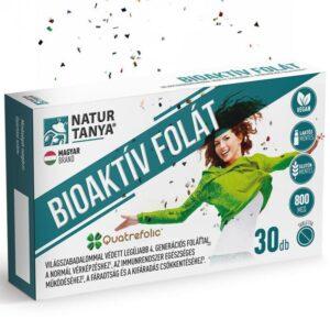 Natur Tanya Bioaktív Folát vegán tabletta - 30db