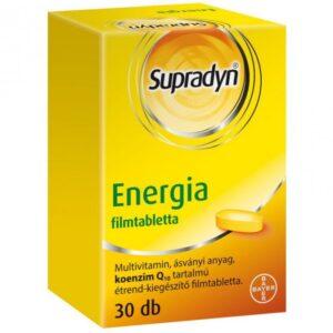 Supradyn Energia filmtabletta - 30db
