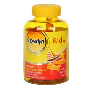 Supradyn Kids multivitamin + omega-3 + kolin gumivitamin - 60db