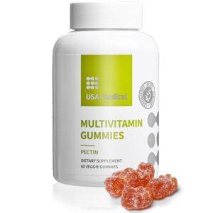 USA Medical Multivitamin Gummies gumivitamin - 60db