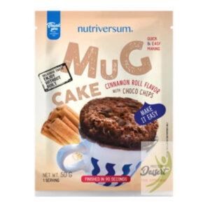 Nutriversum Dessert-Mugcake fahéjas csiga - 50g