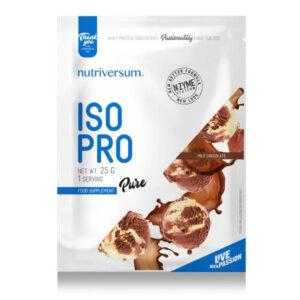 Nutriversum PURE Iso Pro tejcsokoládé - 25g