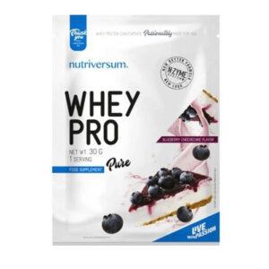 Nutriversum Pure Whey Pro áfonyás sajttorta – 30g
