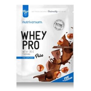 Nutriversum Pure Whey Pro mogyoró-csokoládé - 30g